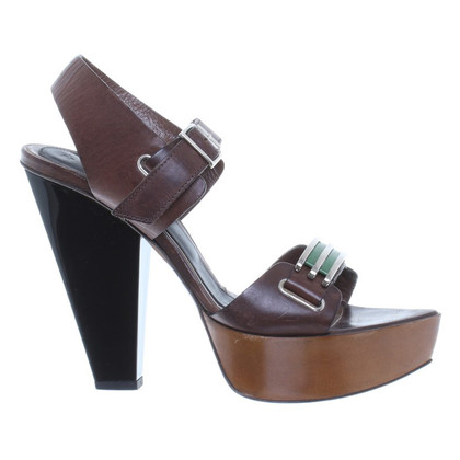 Marni High Heels in Braun