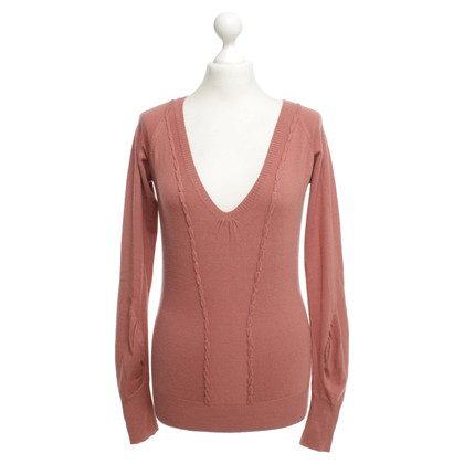 Patrizia Pepe Sweater in red-brown
