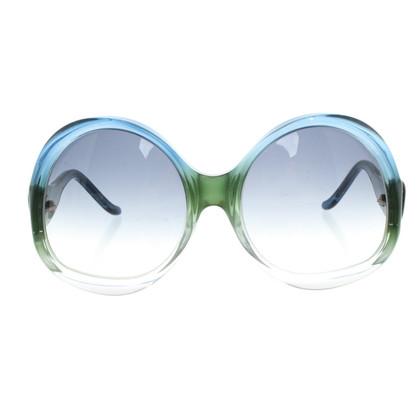 Balenciaga Sunglasses in Blue / Green