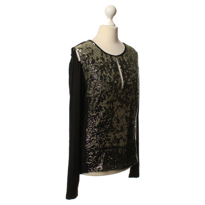 Other Designer Long-sleeved shirt with applications