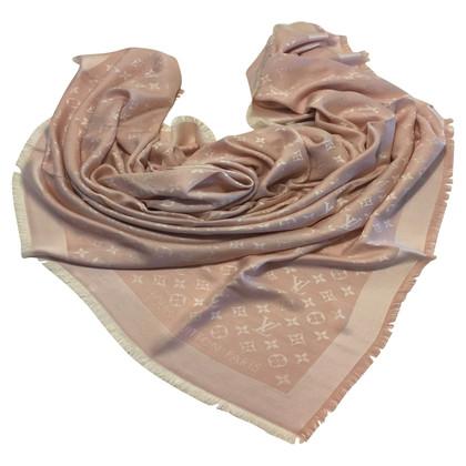 Louis Vuitton Monogram denim cloth in rose