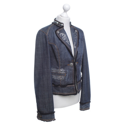 Escada Jeans jacket in a costume look