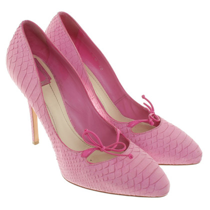 Christian Dior pumps in rosa