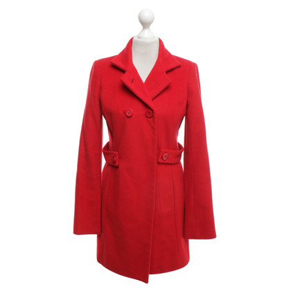 Reiss Coat in red