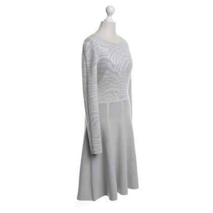Hugo Boss vestito grigio dal knit