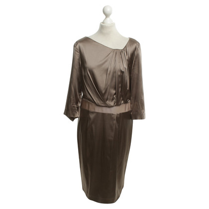 St. Emile Silk dress in taupe