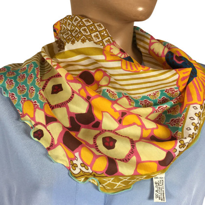 Kenzo Scarf in cotton / silk