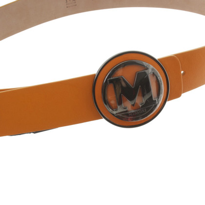 Missoni Orange leather belt
