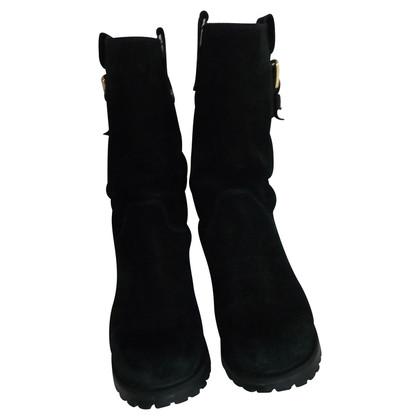 Dolce & Gabbana Boots aus Wildleder