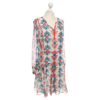 Tory Burch Kleid mit buntem Muster