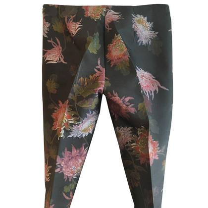 Bruuns Bazaar Broek met een bloemenpatroon