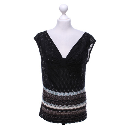 Missoni top with pattern