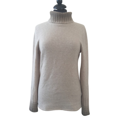 Iris von Arnim Turtleneck Sweater in beige
