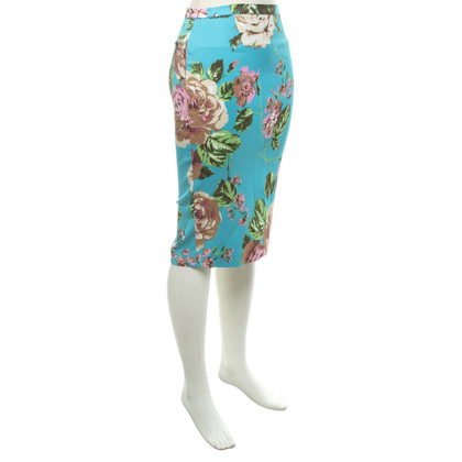 D&G skirt with floral pattern