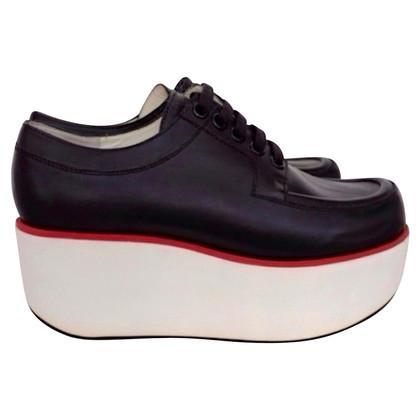Jil Sander Lace-up shoes with platform sole