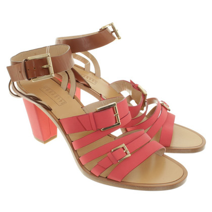 Fratelli Rossetti Sandals in pink / brown
