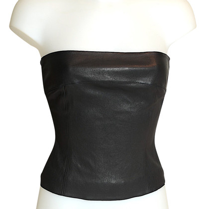 Chanel Leather bustier