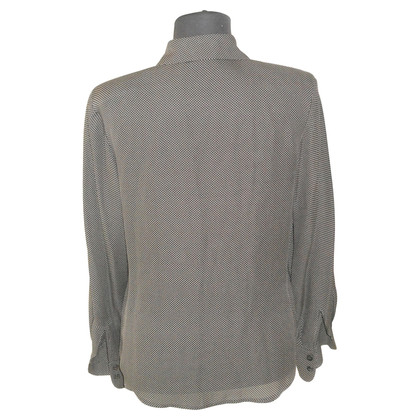 Laurèl Silk blouse with points
