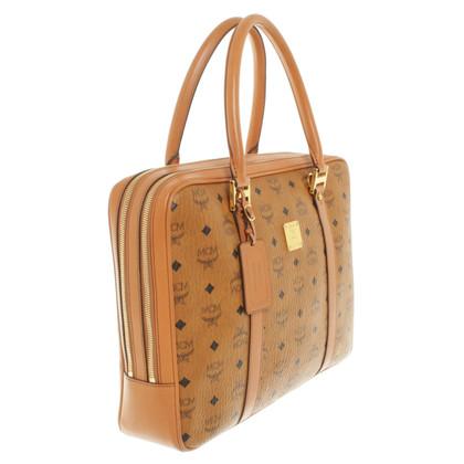 MCM Handbag with logo design