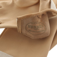 Hermès Handschuhe in Beige