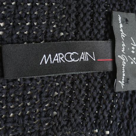 Strickjacke in Marc Cain Cain Marc Blau Dunkelblau wq7TWtxI