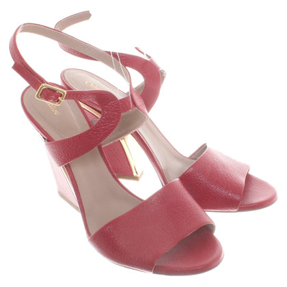 Chloé Sandals in red