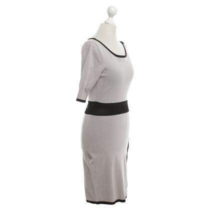 Karen Millen Dress in beige / black