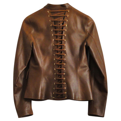 Tom Ford Laced leather jacket