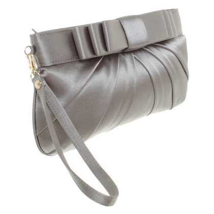 Moschino Love clutch in Gray
