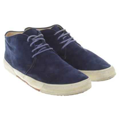 Jil Sander Suede lace-up shoes