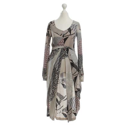 Etro Maxi jurk met patroon mix