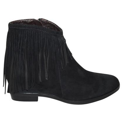 Steffen Schraut Boots with fringes