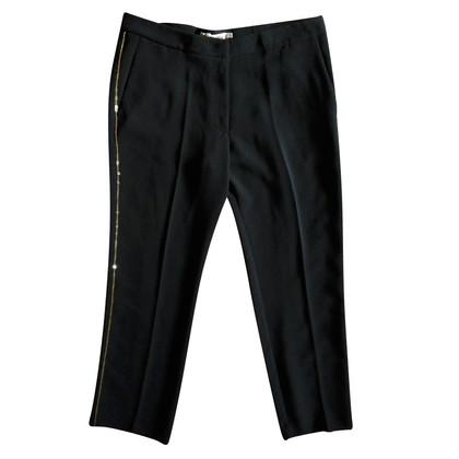 See by Chloé pantaloni leggeri con paillettes