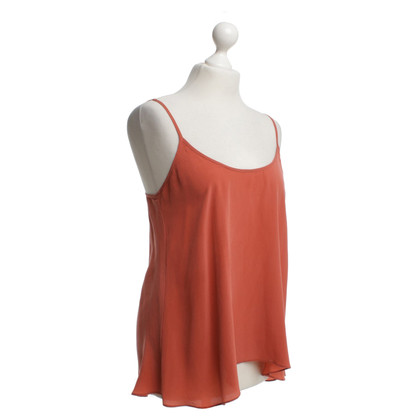 American Vintage Silk top in red
