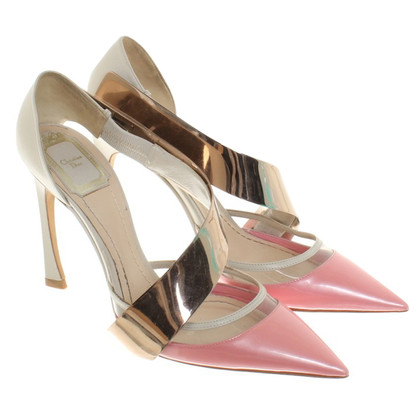 Christian Dior pumps with metal element