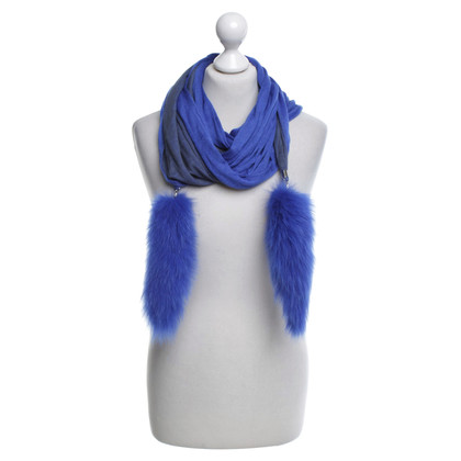 Max Mara Scarf in blue