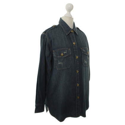 Current Elliott Denim blouse blauw