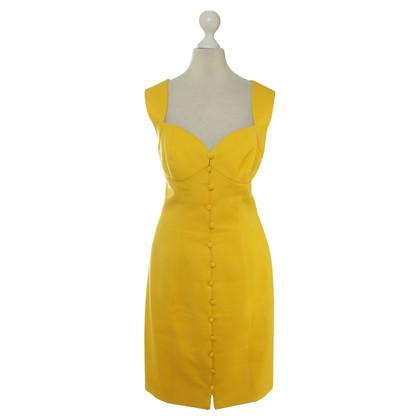 Lanvin Sheath dress in yellow