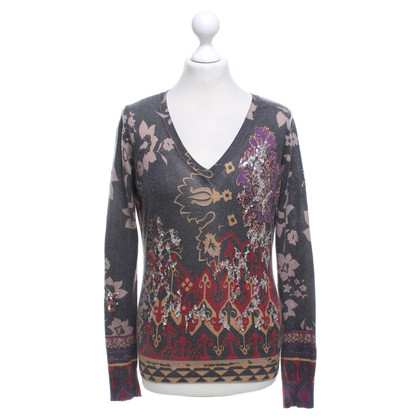 Etro Sweater with floral pattern