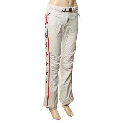 Jet Set Pantaloni da sci con applicazioni di stelle