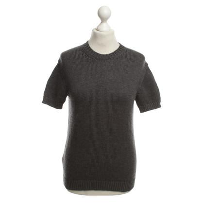 Miu Miu Knit Top in Grey