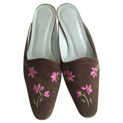 Emma Hope´s Shoes Embroidered Slippers