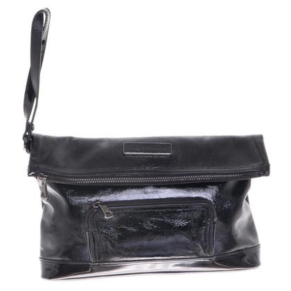 Longchamp clutch in nero