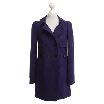 Tara Jarmon Coat in dark violet