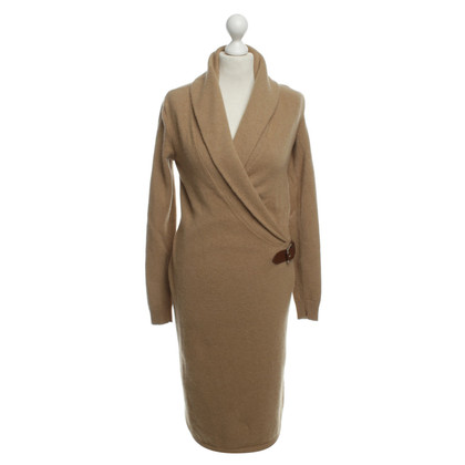 Polo Ralph Lauren Strickkleid in Camel