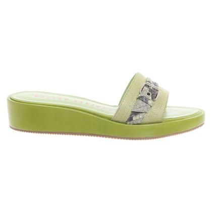 Walter Steiger Sandals in green