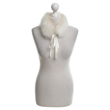 Luisa Cerano Collar made of polar fur