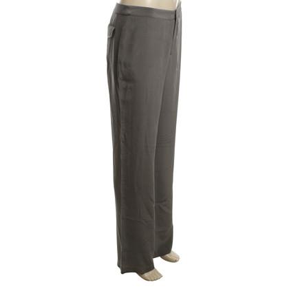 Alexander Wang pantalon de soie en gris