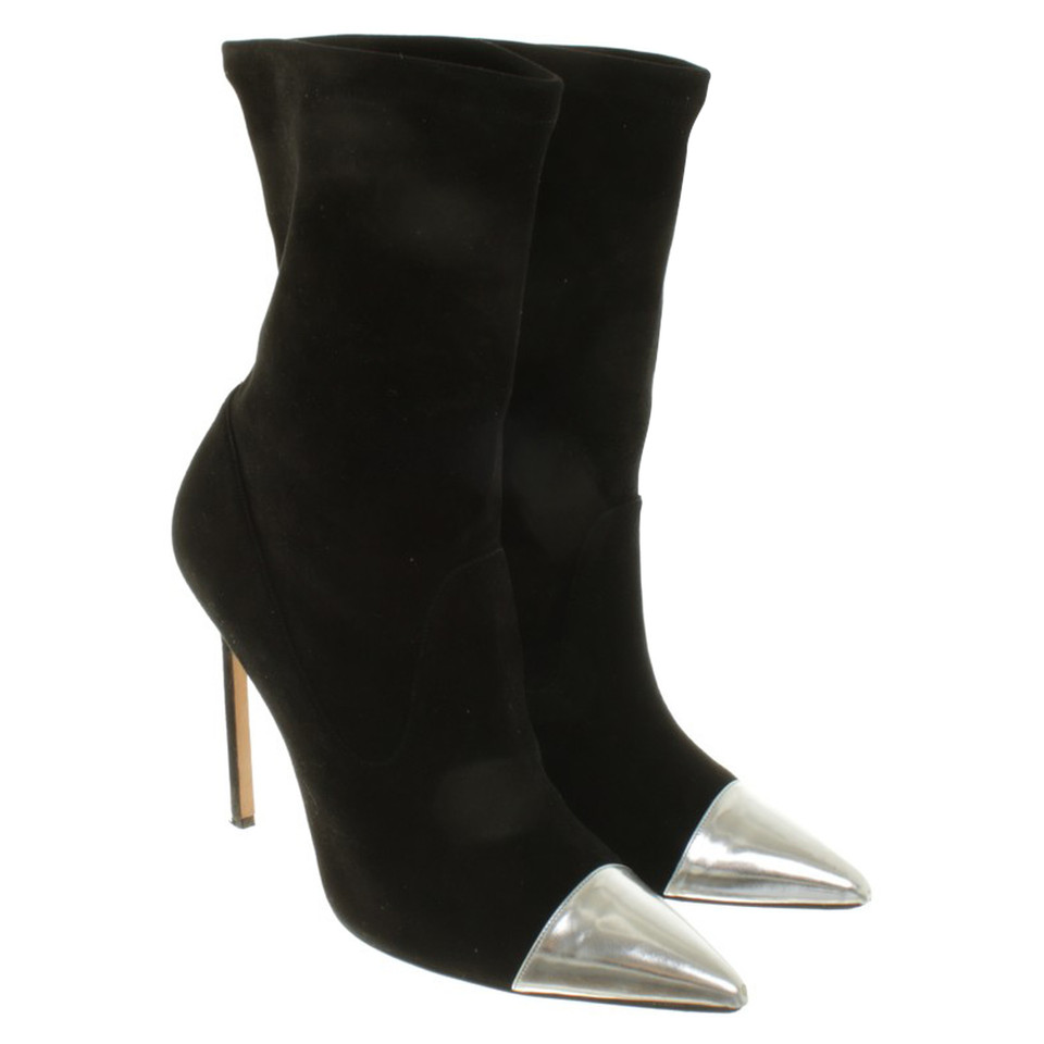 Manolo Blahnik Ankle boots from suede