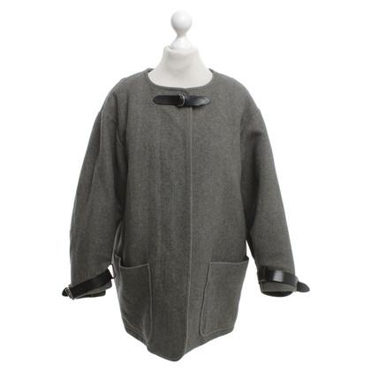Isabel Marant Tweed jas met een retro-look